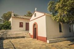 Agios Ioannis Kastri Skopelos greece