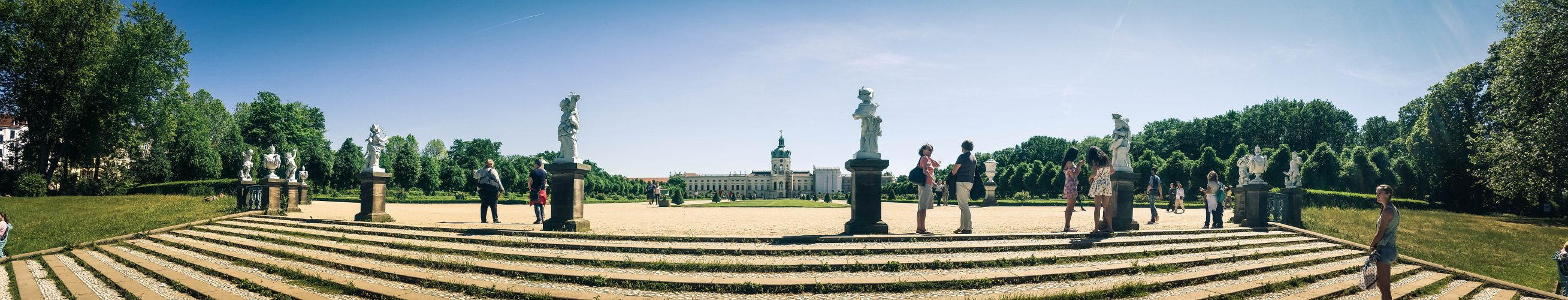 Royaler Lorbeer am Schloss Charlottenburg