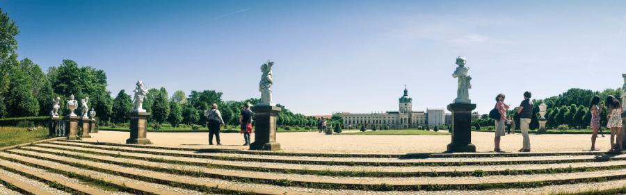Schloss Charlottenburg Berlin Ausflug Städtereise