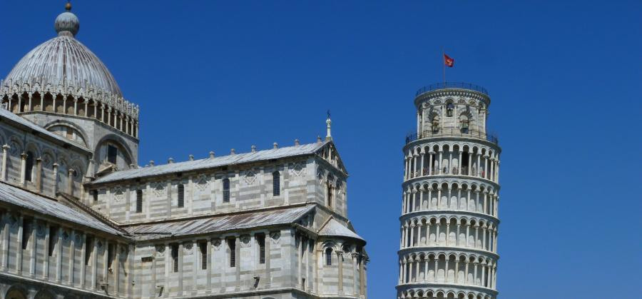 The truth about Pisa and its leaning tower