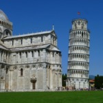 Leaning tower of Pisa, cathedral
