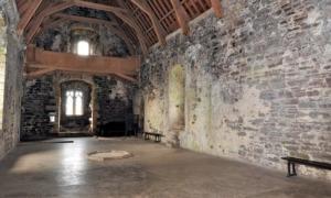 Doune Castle inside