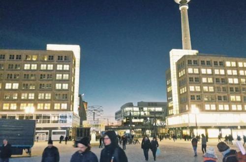 Berlin in Wintertime Germany is a good Europe trip