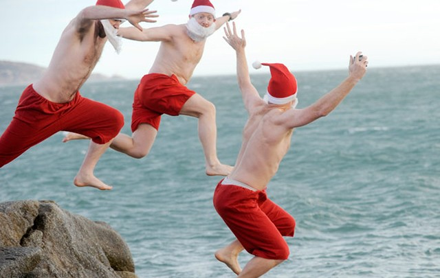cropped Forty Foot Christmas Day