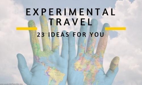 23 travel ideas