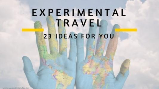 23 travel ideas