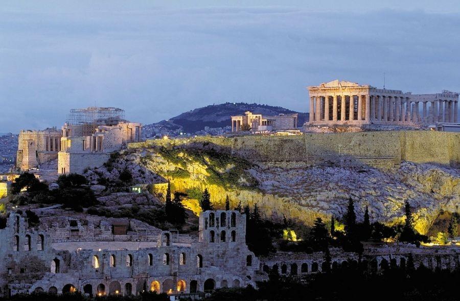 Athen ACropolis Reise
