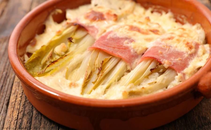 Chicoree-ham-baked-belgian-dish