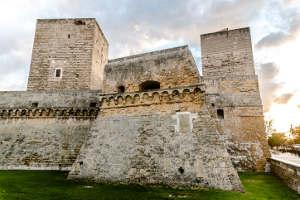 Bari old town Svevo castle Italy Puglia