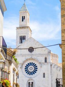 Bari old town San Sabino Italy Puglia