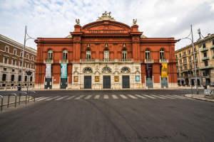 Teatro Bari old town Italy Puglia