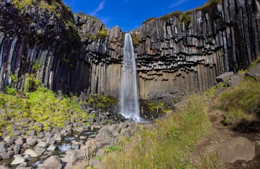Svartifoss-iceland-waterfall