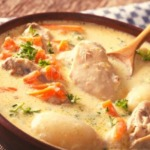 Ghentse waterzooi chicken soup